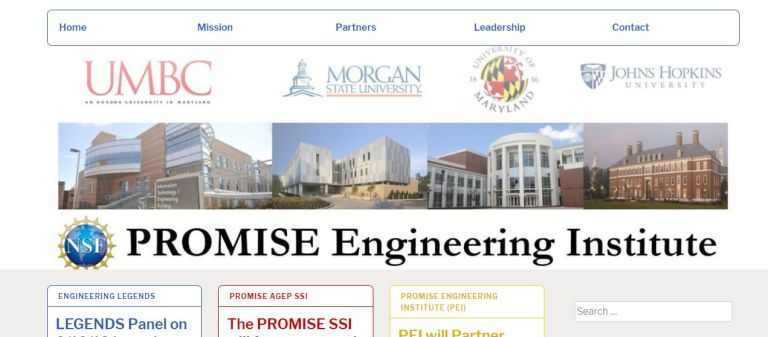 PROMISE Engineering Institute Website